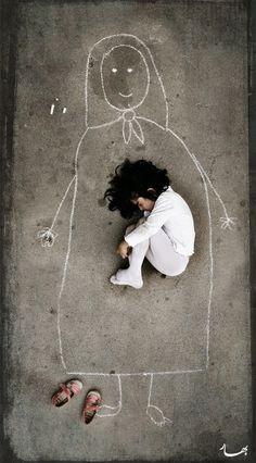 Mi último homenaje al Día de la Madre..... me pareció genial esta imagen.. y a ti?
