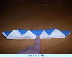PLIAGE DE SERVIETTE - VAL ELLE RIT Creations, Deco, Table, Glamour Nails, Projects, Noel, Kitchens, Napkins, Deko