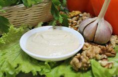 Ореховый соус из грецких орехов