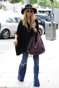 Los jeans rotos oxford! Rachel Zoe
