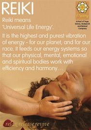 What is Reiki? A simple way to describe it. Try writing or saying your own version.