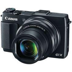 12.8 Megapixel PowerShot(R) G1 X Mark II Digital Camera - CANON - 9167B001
