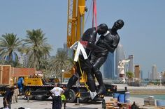 And Laugh!!! LoL  A 16ft statue of Zinedine Zidane headbutting Marco Materazzi has being erected in Doha. http://sulia.com/my_thoughts/63d18757-d691-4569-b758-49d273ea6005/?