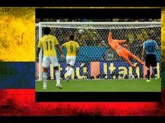 Golazo James Rodriguez Colombia vs Uruguay (Narra Tato Sanin Caracol Radio) - YouTube