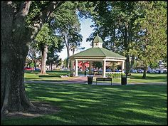 Bandstand, City Park, Paso Robles California
