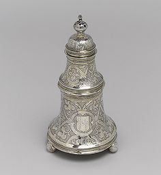 Bell salt, 1600–1601  Master T.S. (English, active early 17th century)  Silver gilt
