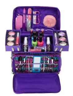 Justice for Girls Makeup Kit | ... continue shopping at juSstice justice 2 pc glam girl mega make up