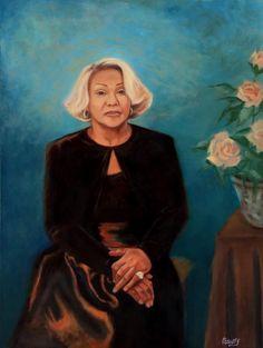 """Mona Jones McCammon"", oil"
