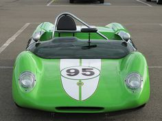 Lotus 23 Low, wide, and streamlined! Vintage Racing, Vintage Cars, Vintage Auto, Classic Sports Cars, Classic Cars, Nascar, Lotus 7, Because Race Car, My Dream Car