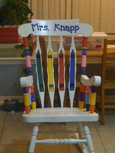 teacher chair idea