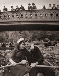 This is exactly where Jeff proposed!   -Central Park circa1940