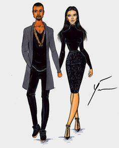 Sweet November 'Kanye West & Kim Kardashian' by Yigit Ozcakmak