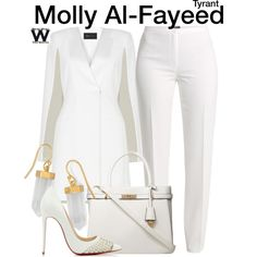 Inspired by Jennifer Finnigan as Molly Al-Fayeed on Tyrant.