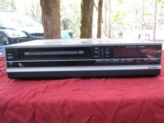 1986 Sears HQ SR1000 VCR for Repair or Parts #SearsRoebuckCo