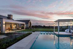 imgonline com ua resize House Layout Plans, House Layouts, House Plans, Modern Barn House, Pavilion Design, New Zealand Houses, Long House, Weekend House, Dream House Exterior