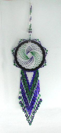 Native American Lakota Indian beaded Dreamcatcher