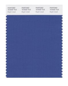 Dramatic .... PANTONE SMART 19-4037X Color Swatch Card, Bright Cobalt Pantone http://www.amazon.com/dp/B004O7A672/ref=cm_sw_r_pi_dp_7DiDub1JFZ9CB