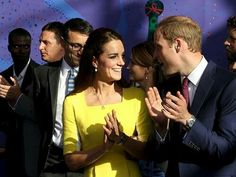 4/16/14 William & Kate at the Sydney Opera House in Australia.