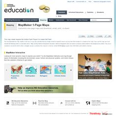 MapMaker 1-Page Maps Customize one-page maps and download, email, print, or share! by national geographic http://education.nationalgeographic.com/education/mapping/outline-map/?ar_a=1 snapped on Snapito!