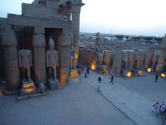 Rames at luxor in egypt