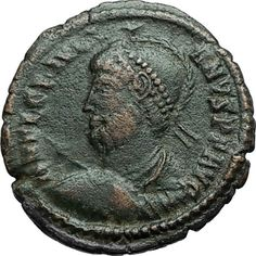 JULIAN II the APOSTATE Philosopher 361AD Authentic Ancient Roman Coin i66275