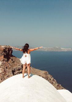 Santorini, Destinations, Sky Mountain, Album, Travel Goals, Grand Canyon, Greece, Ocean, People People
