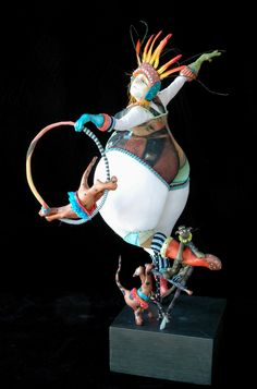 Kate Church - figure: La Petite Menagerie