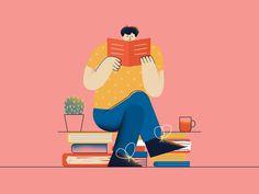 Books by Daniel Jędrzejczyk People Illustration, Flat Illustration, Character Illustration, Graphic Design Illustration, Website Illustration, Flat Design Colors, Pretty Drawings, Grafik Design, Book 1