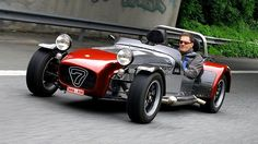 caterham super 7: This color combination is classy and spicy; a combo that we love at Hillbank.
