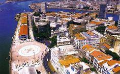 Recife Antigo, Praça do Marco Zero. Pernambuco-Brasil