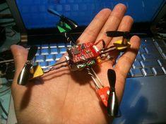 Building a palm size quad-copter
