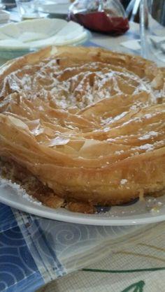 Pasta filo y crema