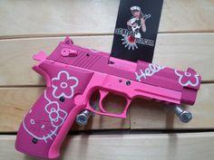 Image result for hello kitty gun tumblr aesthetic