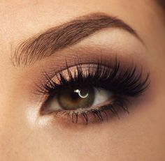 #Bronze #Eye #Makeup  #prettyeyes                                                                                                                                                                                 More