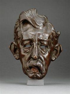 """""""Louis Welden Hawkins (1849-1910), peintre"""" de Alexandre Louis Marie Charpentier (1856-1909). Paris, musée d'Orsay - Photo (C) RMN-Grand Palais (musée d'Orsay) / René-Gabriel Ojéda"""