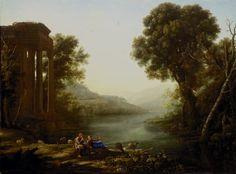 """Claude Lorraine's """"Pastoral Landscape"""""""