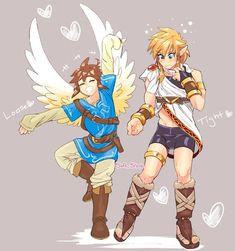 Super Smash Bros Brawl, Nintendo Super Smash Bros, Kid Icarus Uprising, Dreamworks Movies, Nintendo Characters, Fandom Crossover, Legend Of Zelda Breath, Video Game Art, Fire Emblem