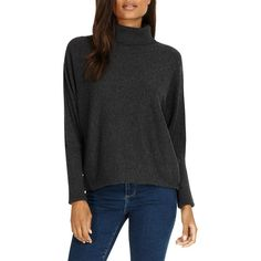 Phase Eight Becca Roll Neck Jumper (1 850 UAH) ❤ liked on Polyvore featuring tops, sweaters, patterned sweater, print sweater, long sleeve sweater, roll neck sweater and extra long sleeve sweater