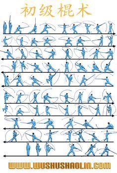Wushu Shaolin - Staff