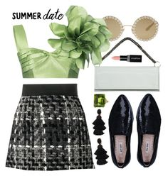 """Summer Date"" by ivansyd ❤ liked on Polyvore featuring Dolce&Gabbana, Vetements, Bambah, Miu Miu, Smashbox, Oscar de la Renta and summerdatenight"
