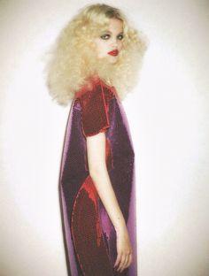 "glitter-in-wonderland: "" "" Daphne Groeneveld by Ezra Petronio for Self Service "" xx """