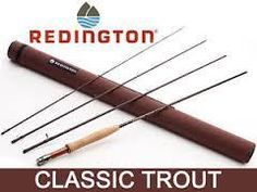 """Redington Classic Trout 490-4 4 wt. 4 pc. 9'0"""" Rod - Anglers Addiction Fly Shop"""