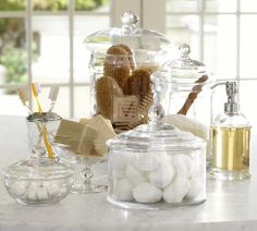 Bathroom Canister Impressive Shop Our House  Laundry Rooms Laundry And Room Decorating Inspiration