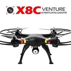 Coocheer Syma X8C Quadcopter Drone - http://www.midronepro.com/producto/coocheer-syma-x8c-quadcopter-drone/
