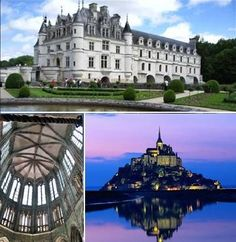 Oferta de viaje a Francia  Conoce Mont. S. Michel y los Castillos del Loira $575