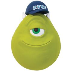 Monsters University Mike W. Cake - Mike Wazowski's lifelong dream is to become a Scarer at Monsters, Inc. He'll need to make it through Monster U first! Create his famous face using the Wilton Sports Ball Pan Set. Cake Dutchess, Monster Inc Cakes, Monster University Party, Shaped Cake Pans, Wilton Cake Decorating, Food Decorating, Mike Wazowski, Golden Birthday, Cool Birthday Cakes