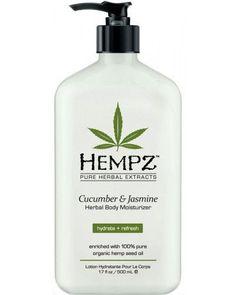 Cucumber & Jasmine Herbal Body Moisturizer 17 oz
