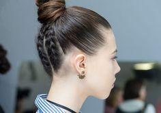 O penteado mais querido do Pinterest ganha um update no desfile da Dior