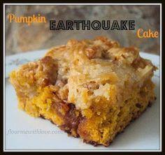 Flour Me With Love: Pumpkin Earthquake Cake