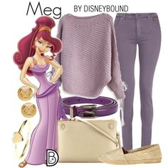 I will ALWAYS post a Meg Disneybound. Especially a super comfy one like this one!!